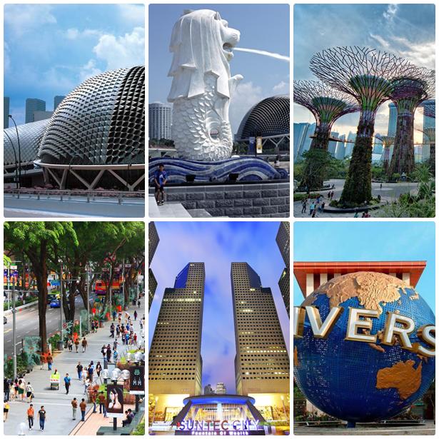 Singapore Day Trips + Sentosa